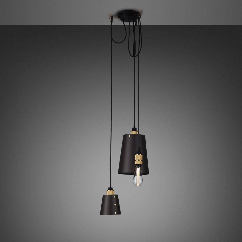 buster and punch hooked 3 0 mix hanglamp grafiet messing. Black Bedroom Furniture Sets. Home Design Ideas