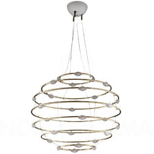 Catellani & Smith - 28 Petits Bijoux Hanglampen Wit / Messing