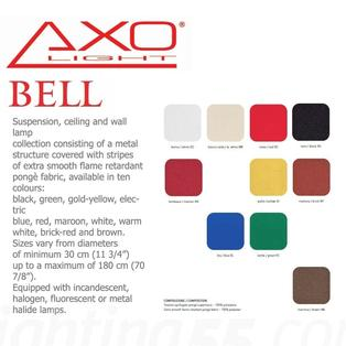 Axo - Bell 118 hanglamp Warm wit