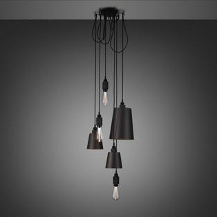 Buster and Punch - Hooked 6.0 Mix Hanglamp Grafiet Brons