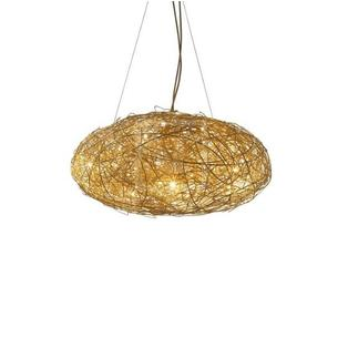 Catellani & Smith - Fil de Fer Ovale 70 hanglamp Goud