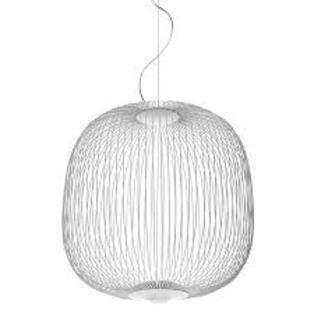 Foscarini - Spokes 2 Large hanglamp Wit