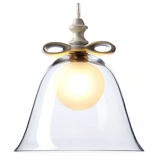 Moooi - Bell hanglamp Wit / Transparant