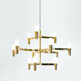 Nemo - Crown Minor hanglamp Verguld