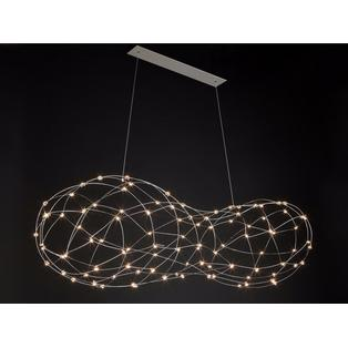 Quasar - Cloud 100 LED dimbaar hanglamp Messing