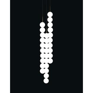 Terzani - Abacus V032S Hanglampen Satijn Wit / Wit