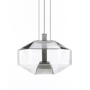 Vistosi - Stone LED hanglamp Wit / Kristal