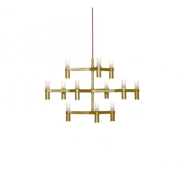 nemo crown minor hanglamp goud