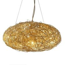 Catellani & Smith - Fil de Fer Ovale 110 hanglamp Goud