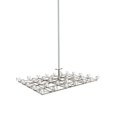 Moooi - Space-Frame Small LED hanglamp Nikkel