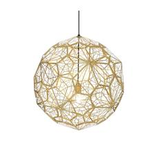 Tom Dixon - Etch Web hanglamp Messing